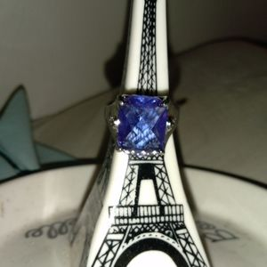 Jewelry - Alexandrite sterling silver ring